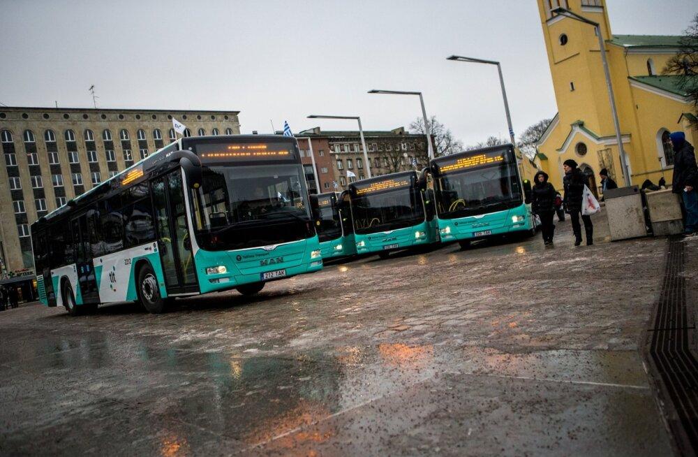 Tallinna bussid