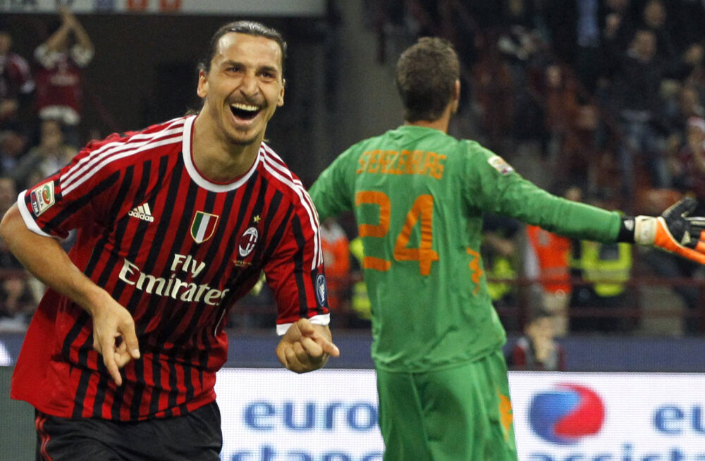 Kõnekas statistika: viimati kaheksa aastat tagasi Milani särgis mänginud Ibrahimovic lõpetab kümnendi klubi suurima väravakütina
