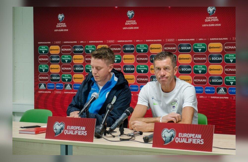 Sloveenia pressikonverents ja trenn