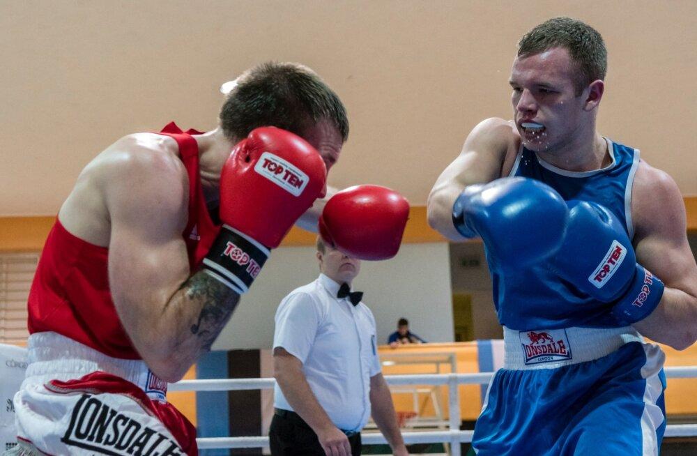 Eesti poksijad alustavad teekonda olümpiapileti nimel Tallinna meistrivõistlustel