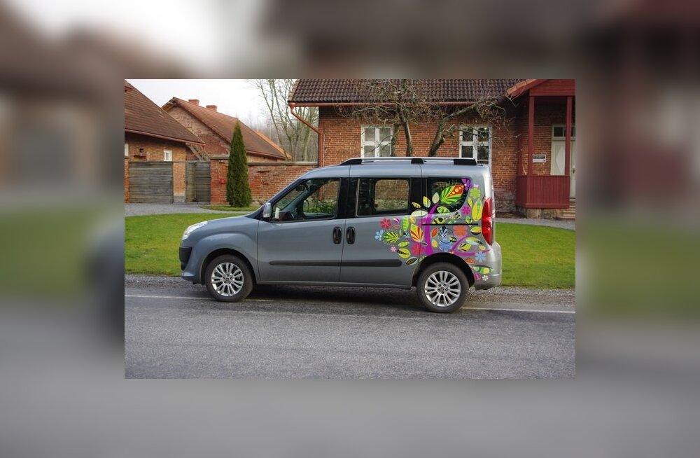 Maagaasil sõitev Fiat Doblo CNG: odavam kui bussisõit!