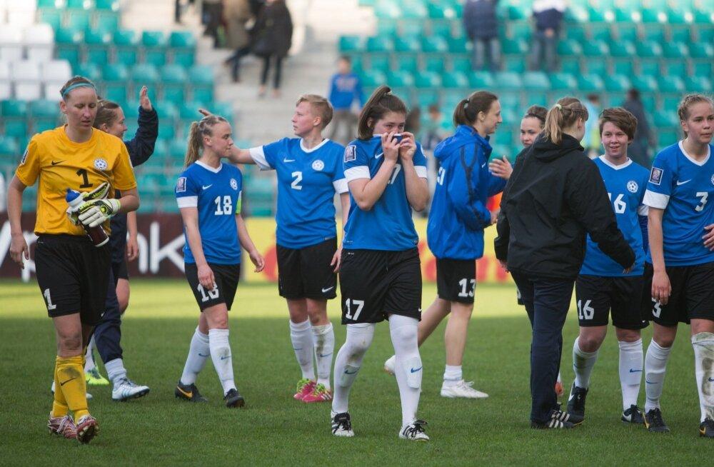 Naiste jalgpallikoondis kohtub MM-pronksi Inglismaaga