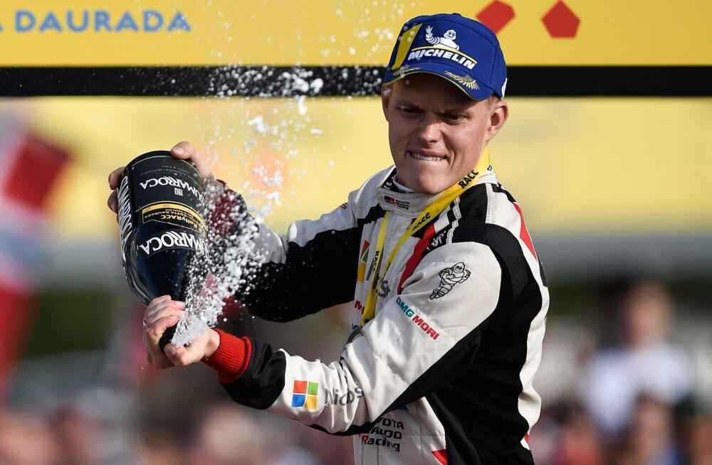 Ott Tänak valiti neljandat aastat järjest WRC-sarja parimaks sõitjaks