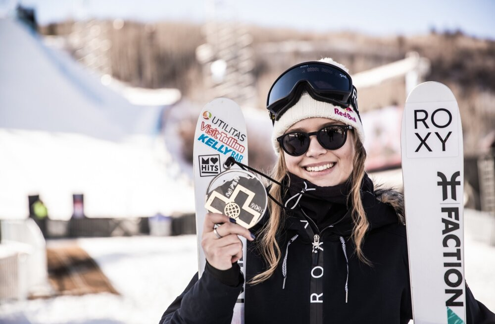 Kelly Sildaru X-Games Aspen 2020 Slopestyle autasustamine