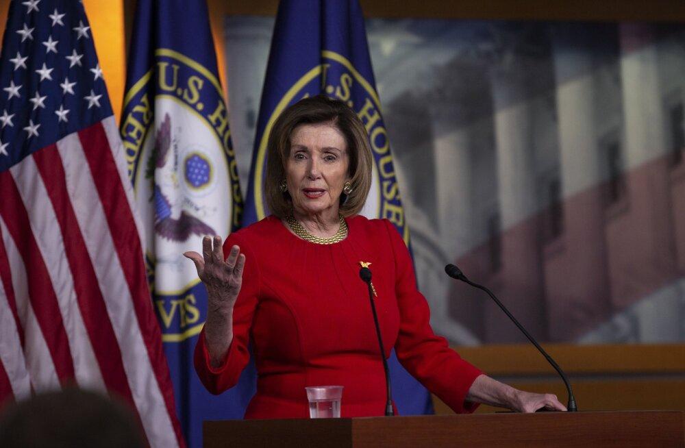 Pelosi: USA esindajatekoda hääletab Trumpi sõjalise tegevuse piiramise resolutsiooni üle