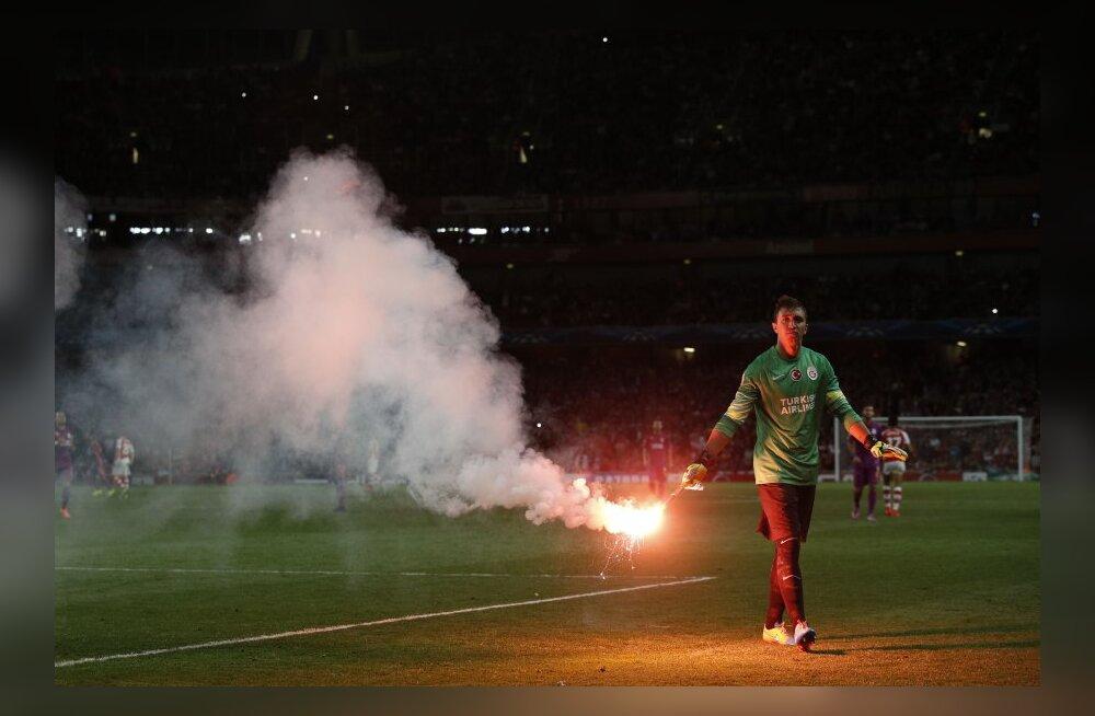 Galatasaray väravavaht Fernando Muslera