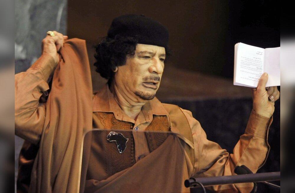 Gaddafi kutsub rahvast relvavõitlusse vaenlase vastu