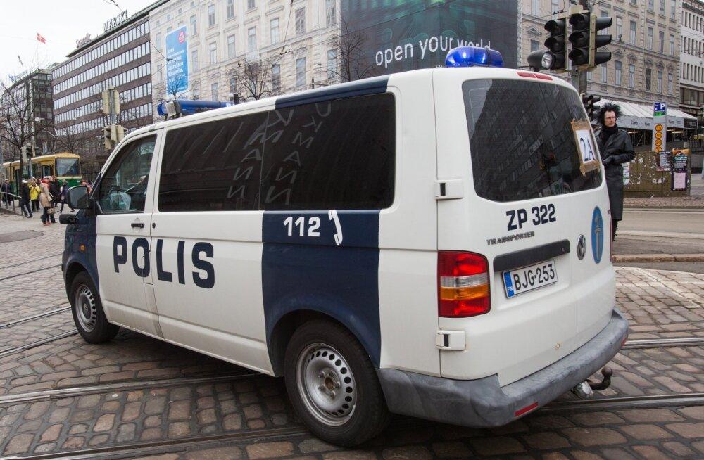 Soome politsei lasi pussitamises kahtlustatava kinnivõtmisel maha