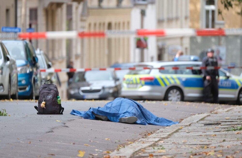 Saksamaal Halles hukkus tulistamises sünagoogi ees vähemalt kaks inimest