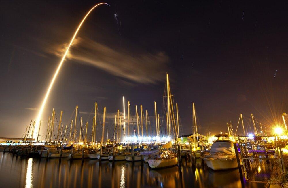 FOTOD | SpaceX saatis ilmaruumi raketi, mis kannab USA valitsuse salajast lasti