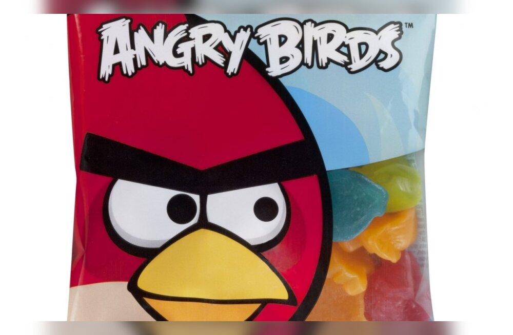 В Эстонии поступили в продажу конфеты Fazer Angry Birds