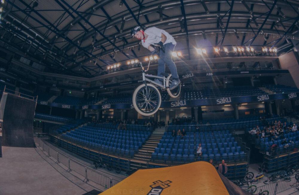 Eesti Jalgratturite Liit alustab BMX freestyle koondisega