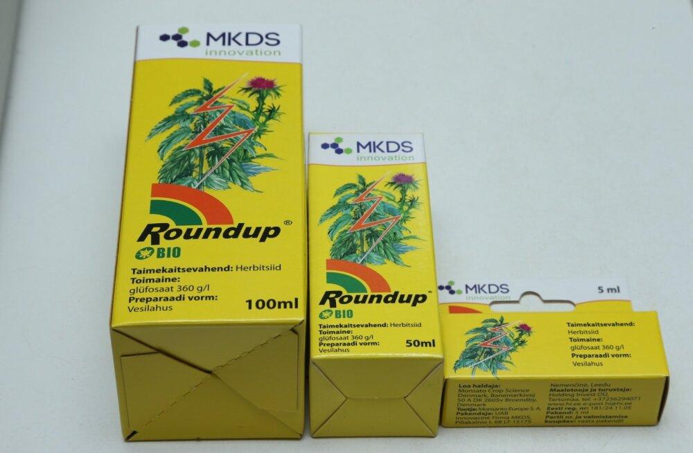 Roundupi kasutamisel tuleb pöörata tähelepanu ohutusabinõudele.