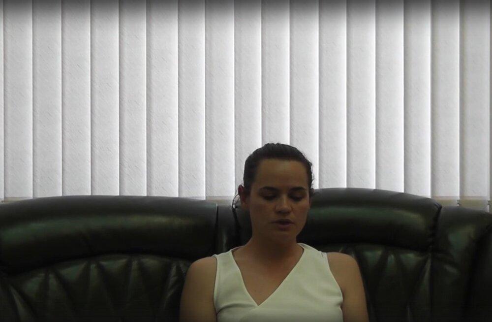 Leedu president: ükski terve mõistusega inimene ei usu, et Tsihhanovskaja salvestas oma videopöördumised vabatahtlikult