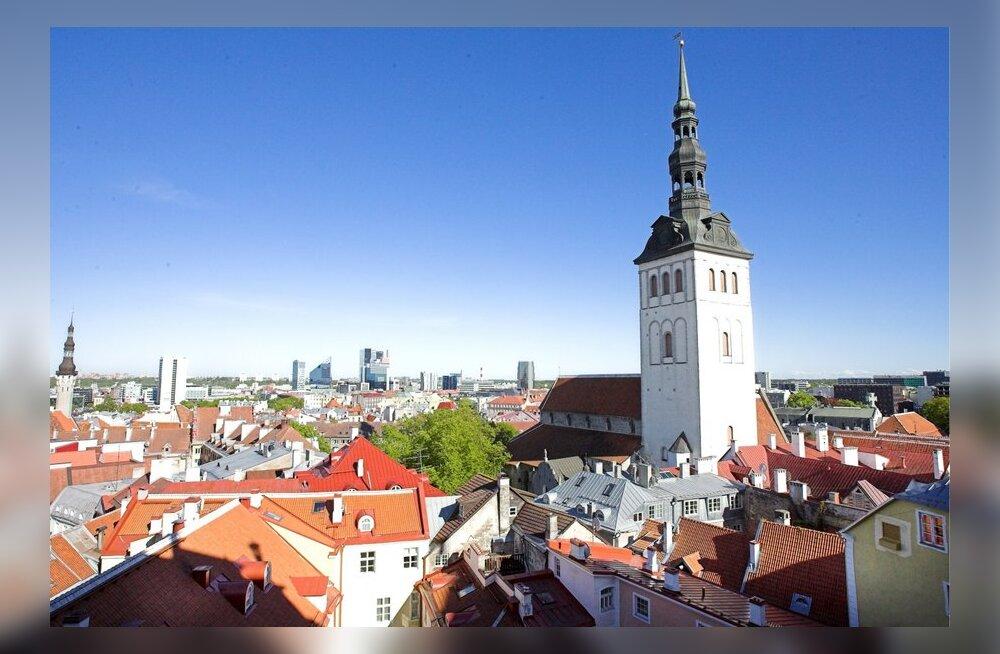 """Таллинн – в тройке самых """"дешевых"""" европейских столиц для российских туристов"""