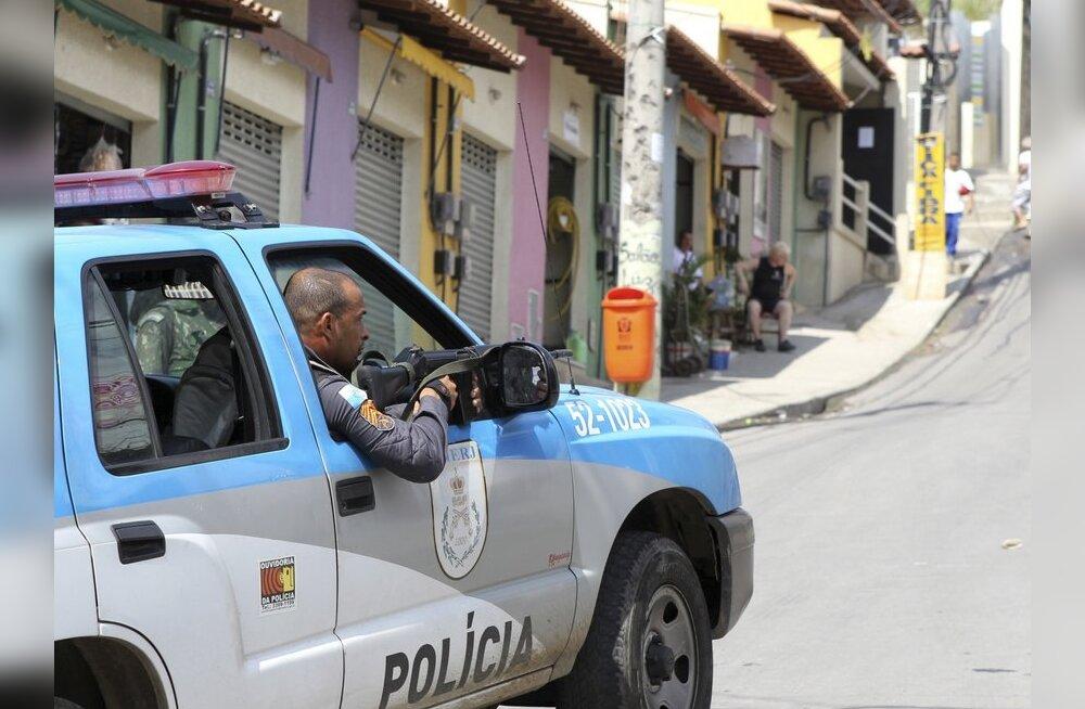Rio de Janeiro politsei sai naissoost ülema