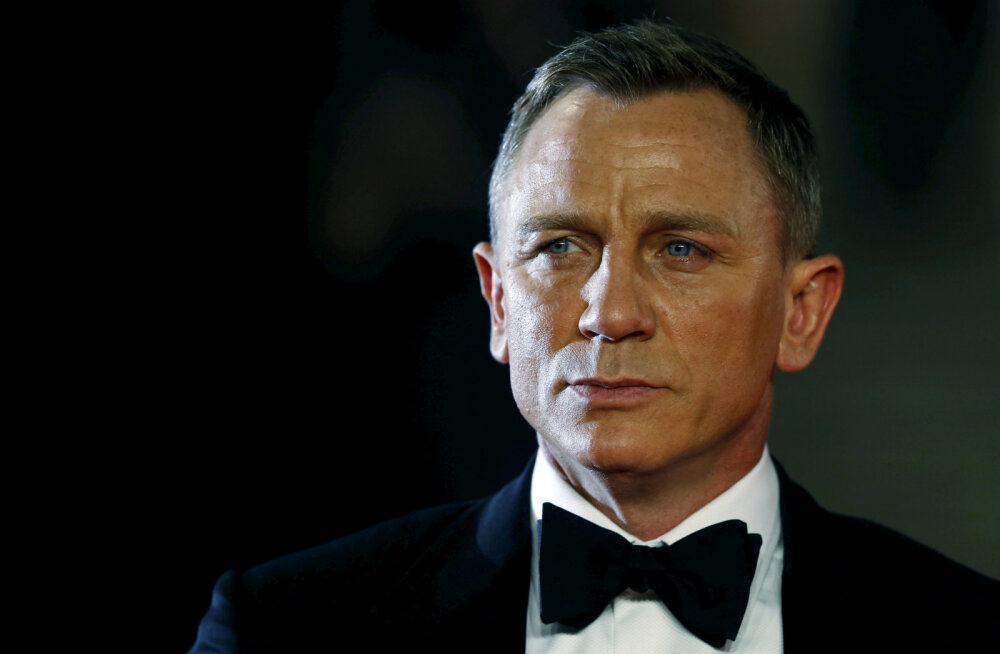 KLÕPS | Ma olen oodanud sind, härra Bond! Daniel Craig poseeris uue 007-ga?