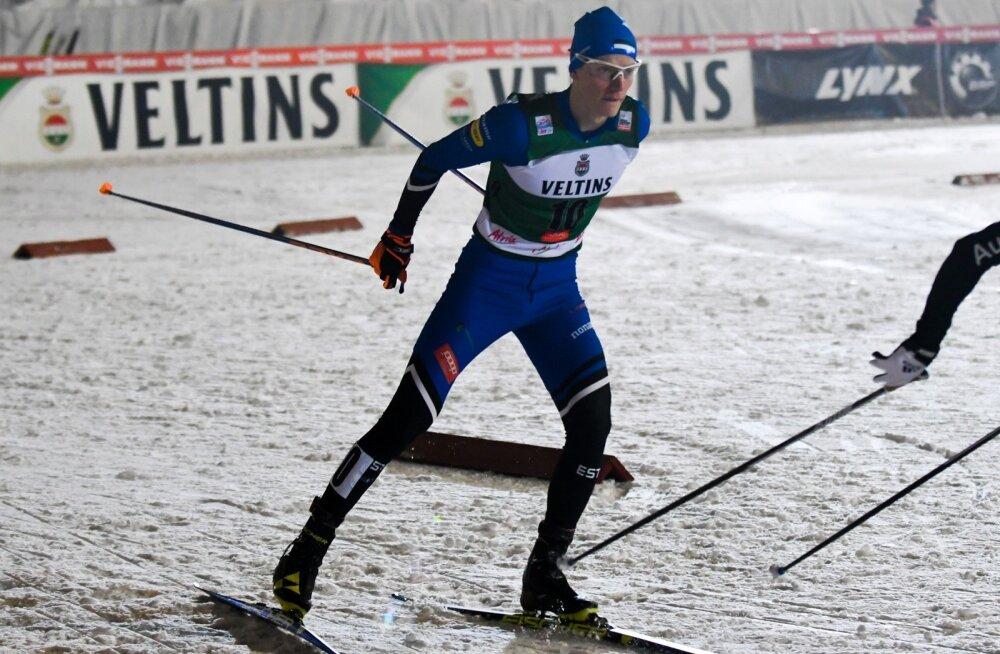 Kristjan Ilves esimesel etapil Rukal