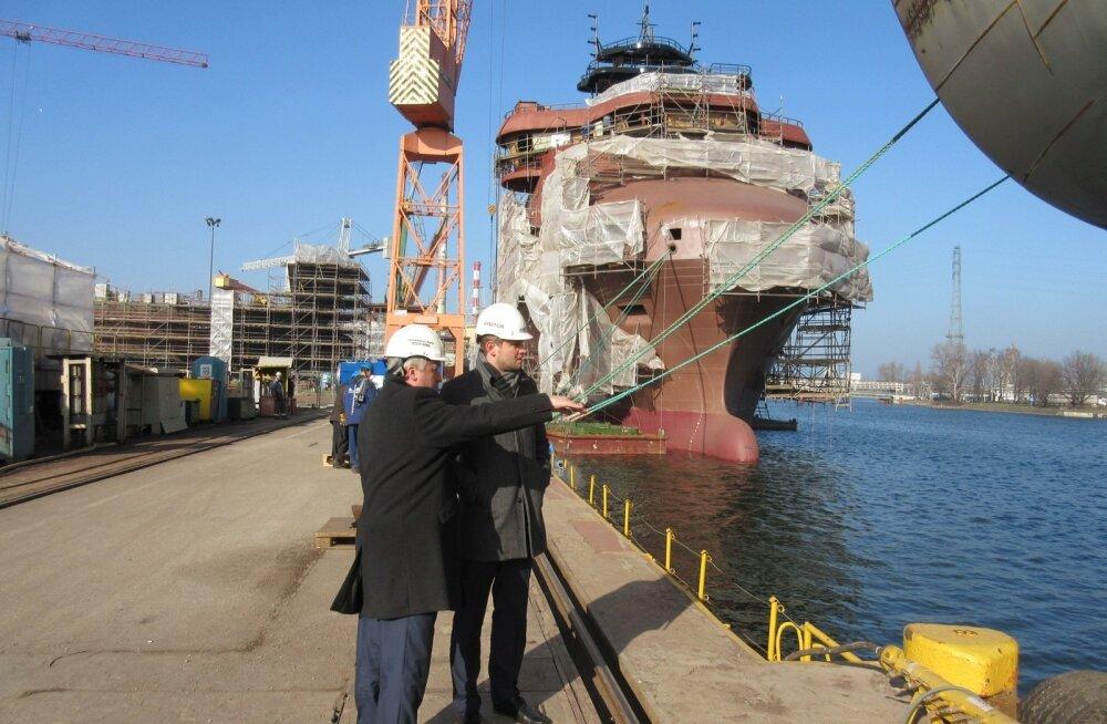 Gdanski laevatehases valmivad Tallinna Sadama tellitud kaks uut parvlaeva
