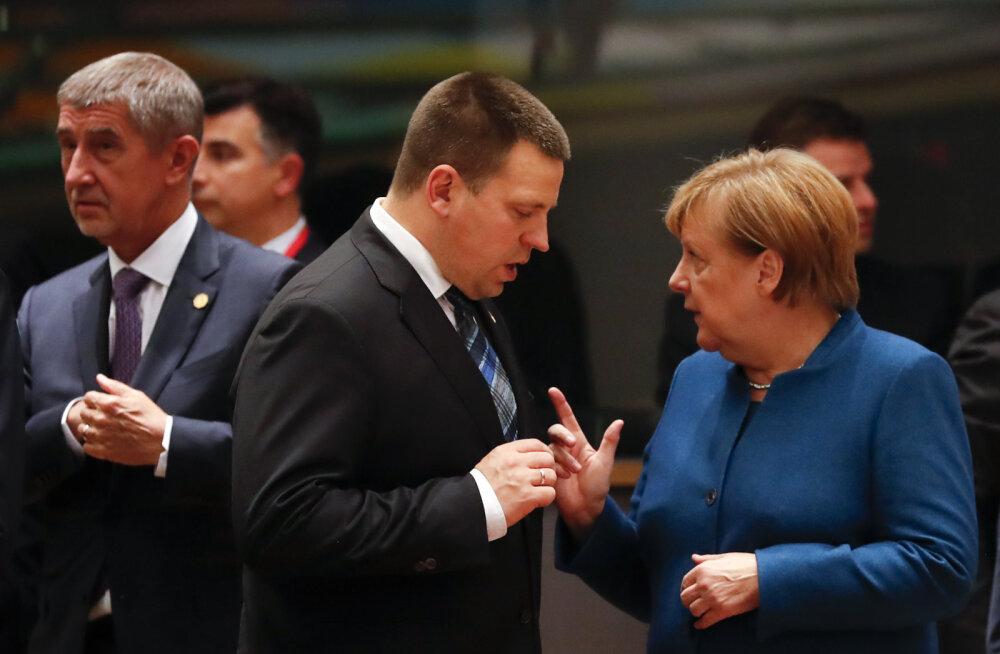 DELFI BRÜSSELIS | EL-i liidrid lahkusid Brexiti-kohtumiselt sama targalt kui enne. Ratas: EL ei tagane, kõik sõltub Briti sisepoliitikast