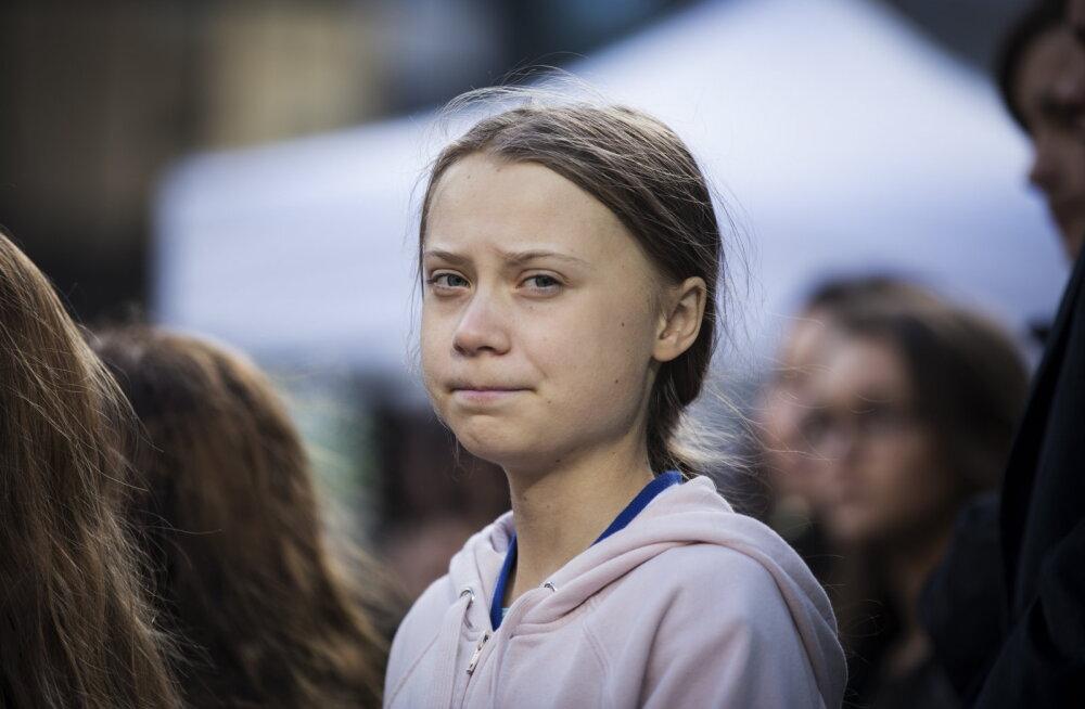 Tšiilisse teel olnud Greta Tunberg palub abi ÜRO kliimakonverentsile jõudmisel, sest see viidi üle Hispaaniasse