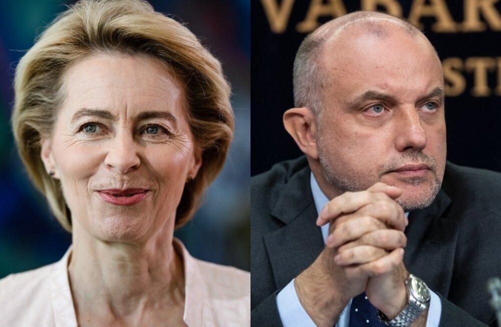 Ursula von der Leyen ja Jüri Luik