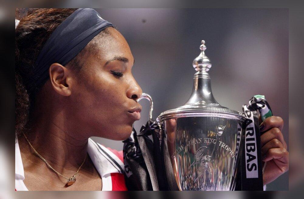 Võimas minek jätkub: Serena Williams võttis aasta esimese turniirivõidu