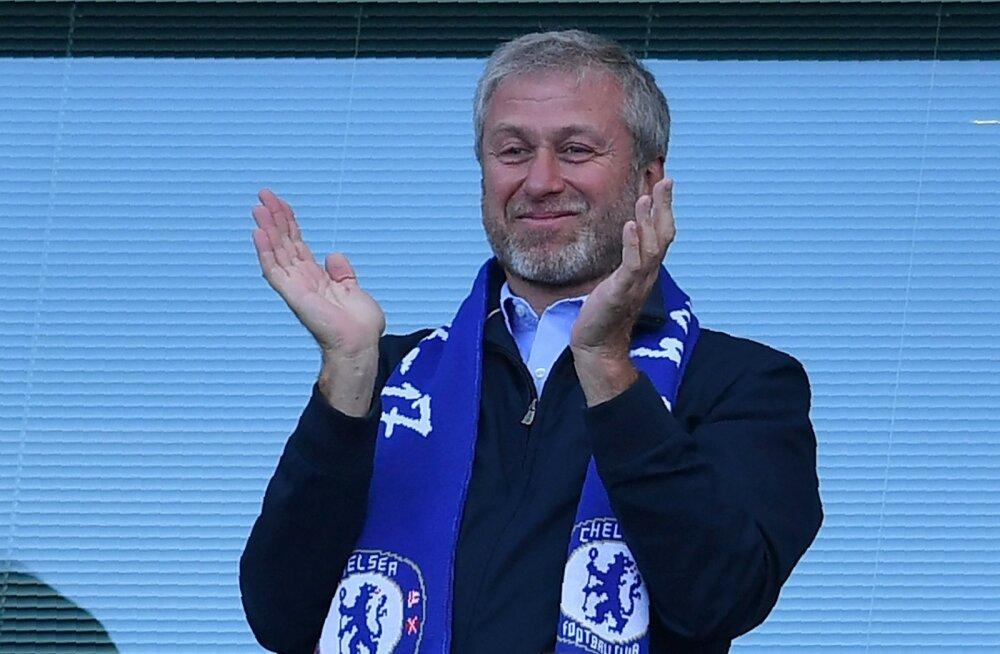 Londoni Chelsea omanik Roman Abramovitš.