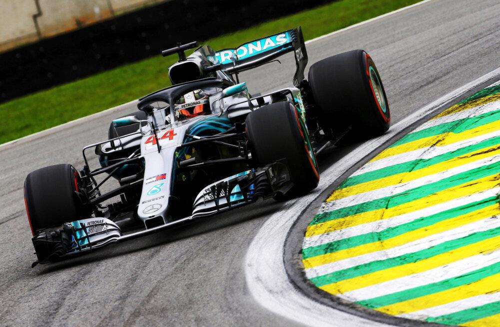 BLOGI   Hamilton võitis ülipõneva Brasiilia GP, Mercedes kindlustas meeskondliku maailmameistritiitli