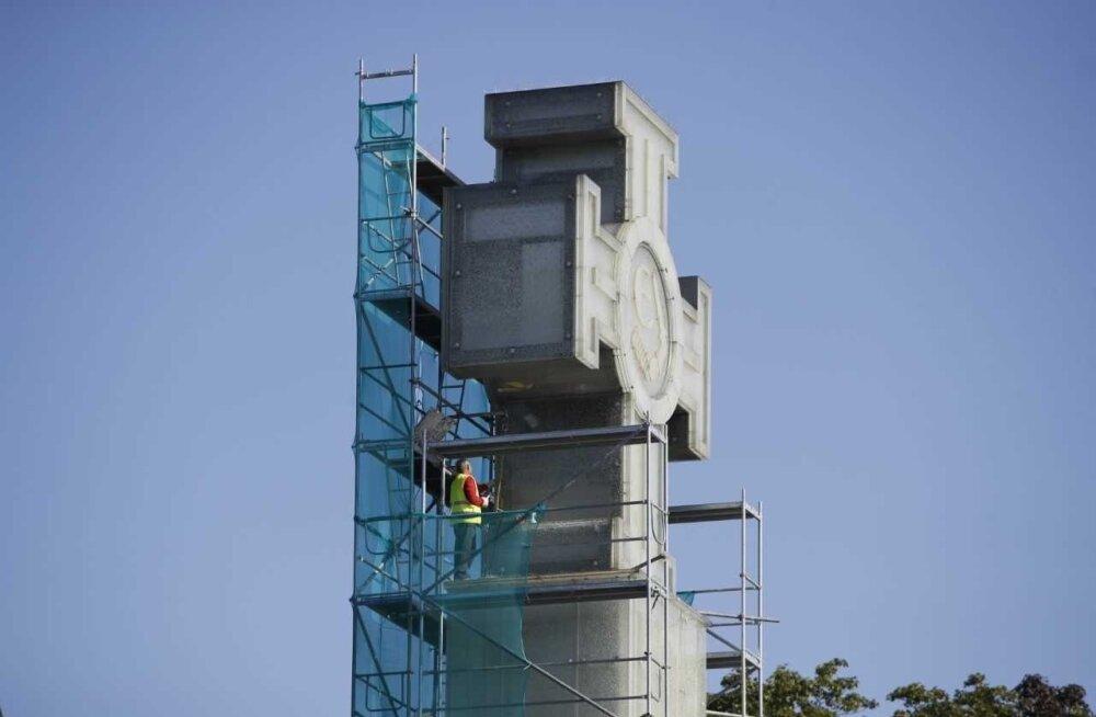 Начавшийся ремонт Монумента Победы в Освободительной войне обойдется в 342 000 евро