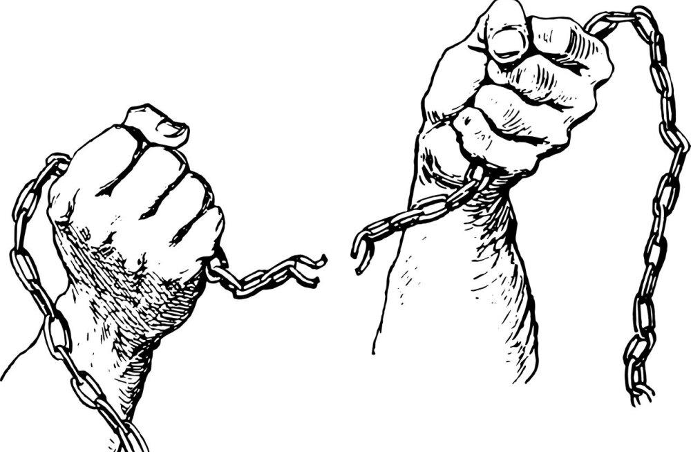 Mis sai orjadest USAs, kui orjapidamine ära keelati?