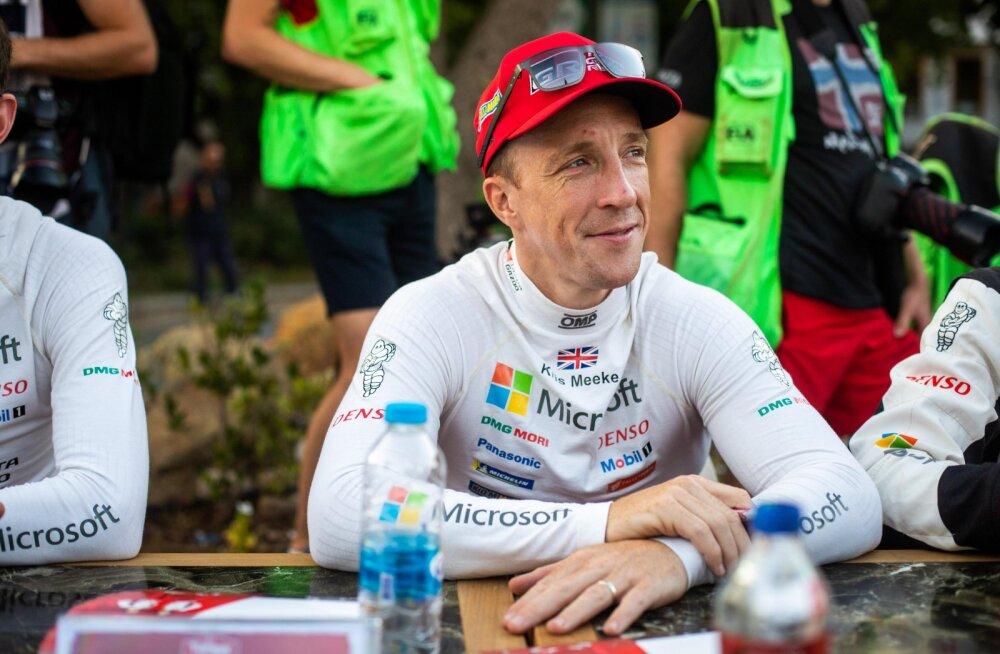 Töötuks jäänud Kris Meeke: tuleb olla realistlik, minu täiskohaga karjäär WRC-s on läbi