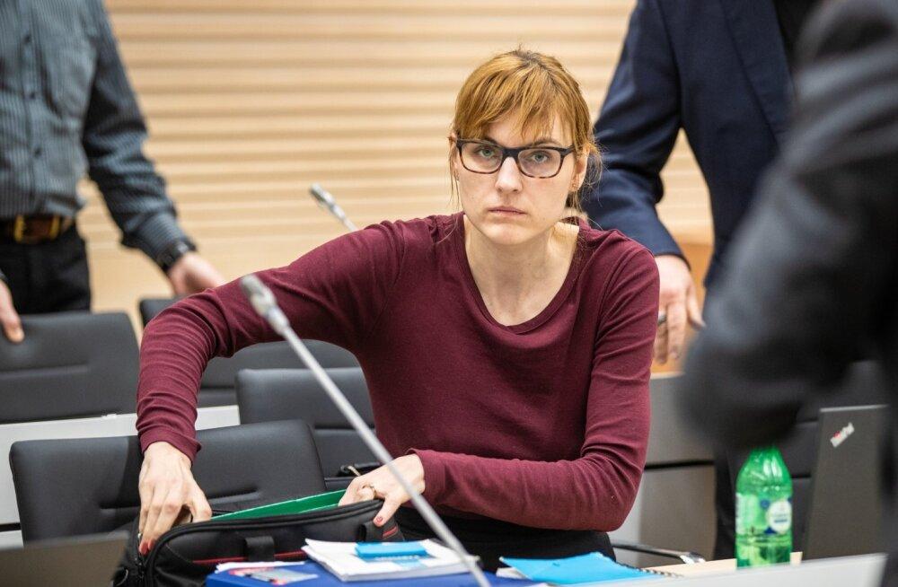 Laura Feldmanis, Tallinna Sadama korruptsiooniistung
