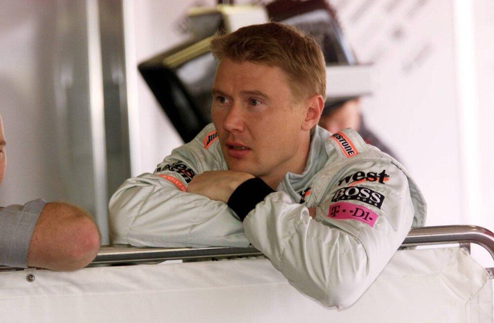 Vormelilegend Häkkinen Schumacherist: tahtsime Michaeliga sõbrad olla, aga sellest ei tulnud midagi välja