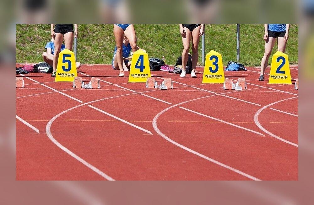 Kergejõustik, sprint