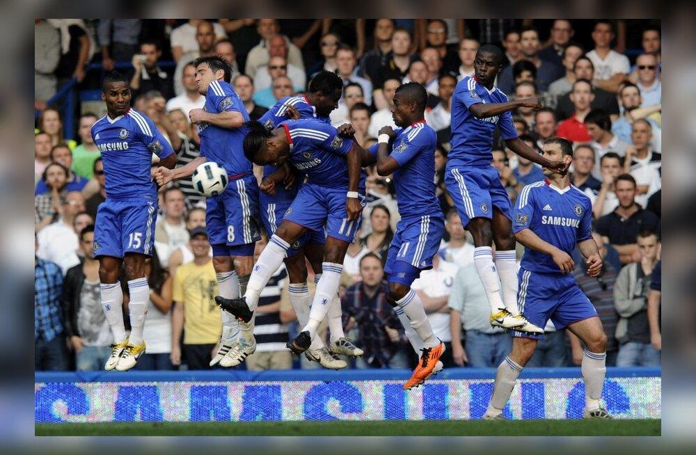 Chelsea kaotas koduväljakul Aston Villale