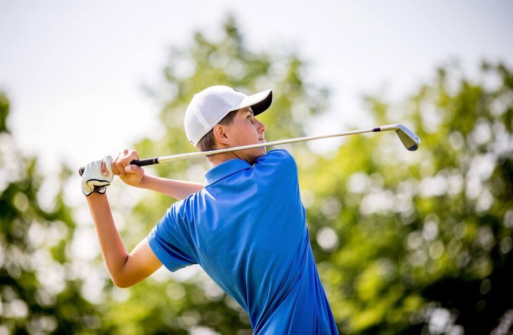 Viis golfikoondislast näitasid taset naaberriigi rahvusvahelisel võistlusel