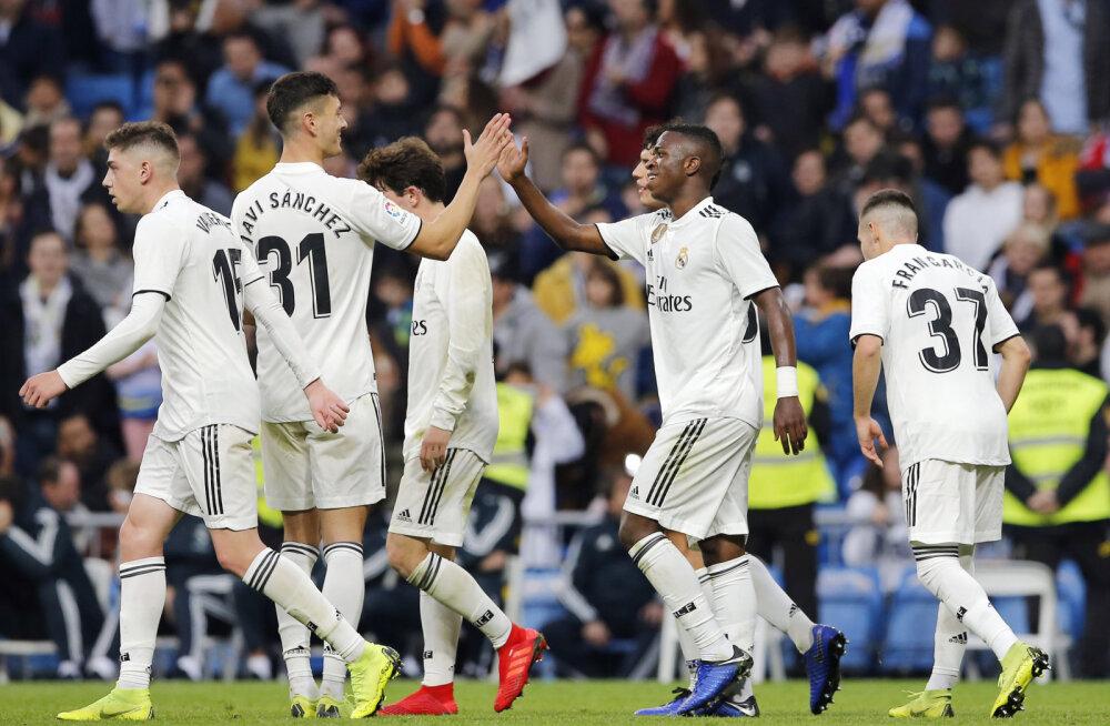VIDEO | Madridi Real võitis karikasarjas kolmanda liiga klubi 10:1
