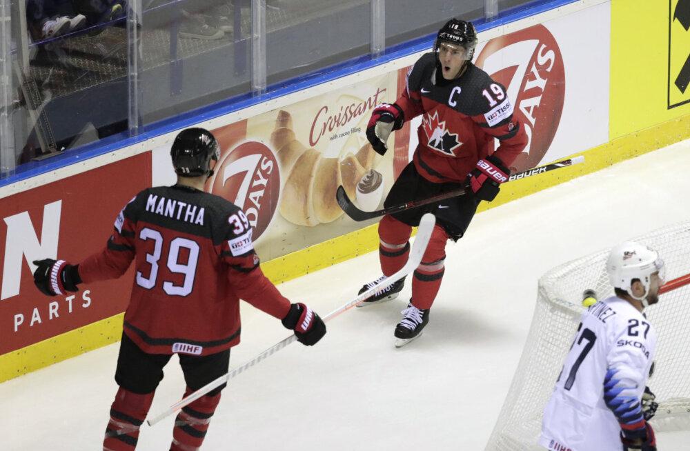 Kanada jäähokikoondist tabas MM-i veerandfinaali eel valus tagasilöök