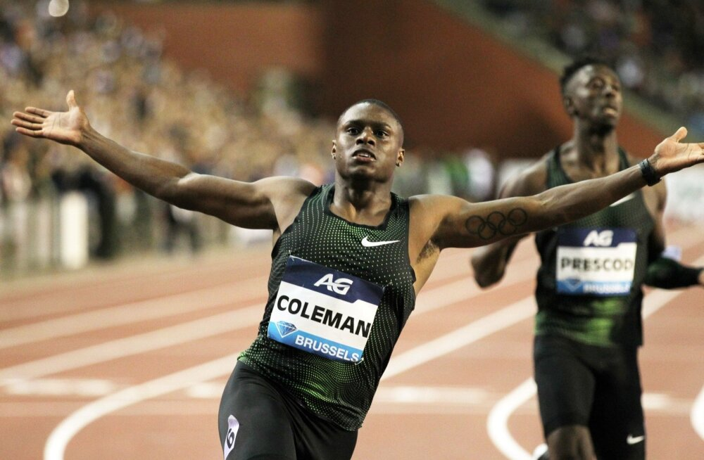 Christian Coleman on sattunud dopinguskandaali.