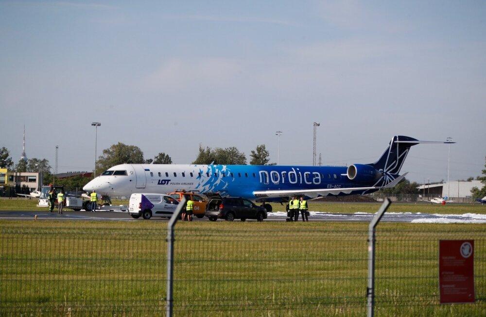 Nordica: если ситуация на рынке изменится, то полеты из Таллинна будут возобновлены