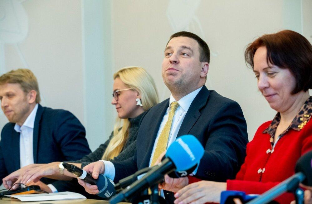 Keskerakonna juhatus kogunes pärast valimisi arutamaks Reformierakonna koalisatsiooniettepanekut