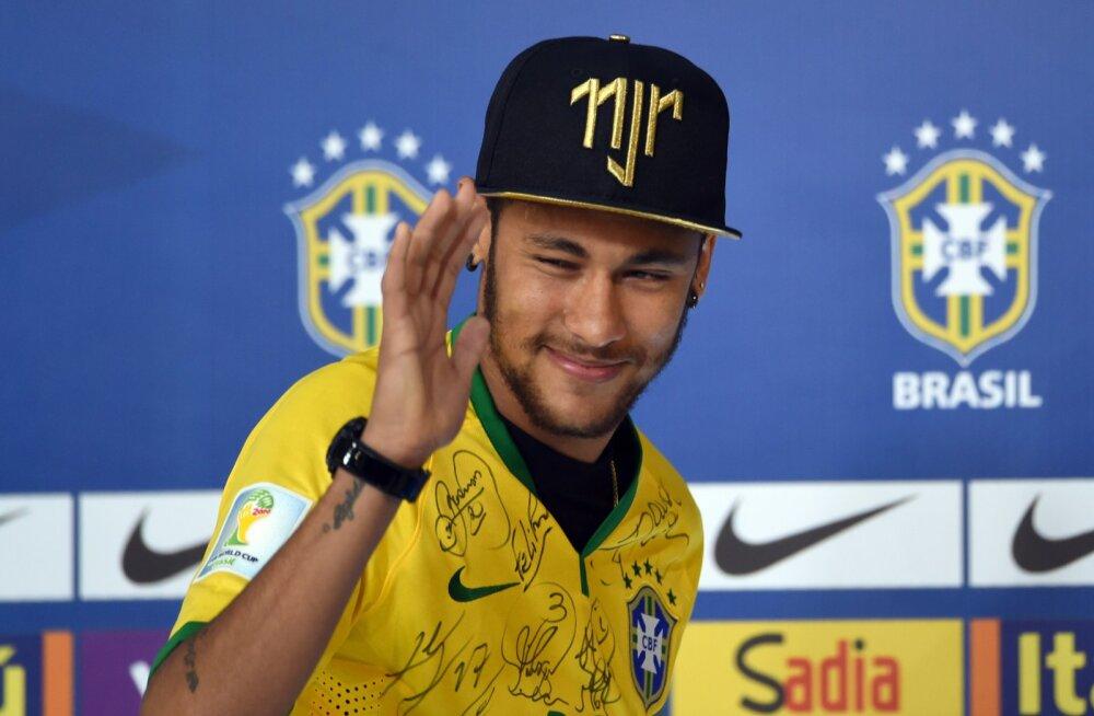 Neymar tahab Rio olümpial Brasiilia eest mängida