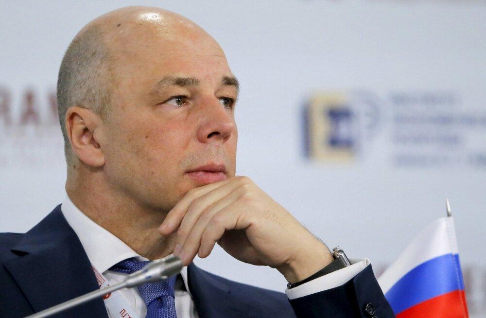 Venemaa rahandusminister Anton Siluanov