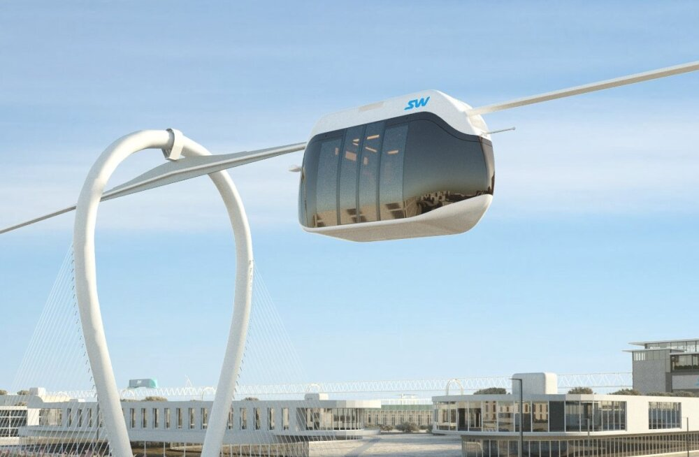 Dubai teatas 15-kilomeetri pikkuse pilvelõhkujate vahelise ripptranspordisüsteemi ehitusest