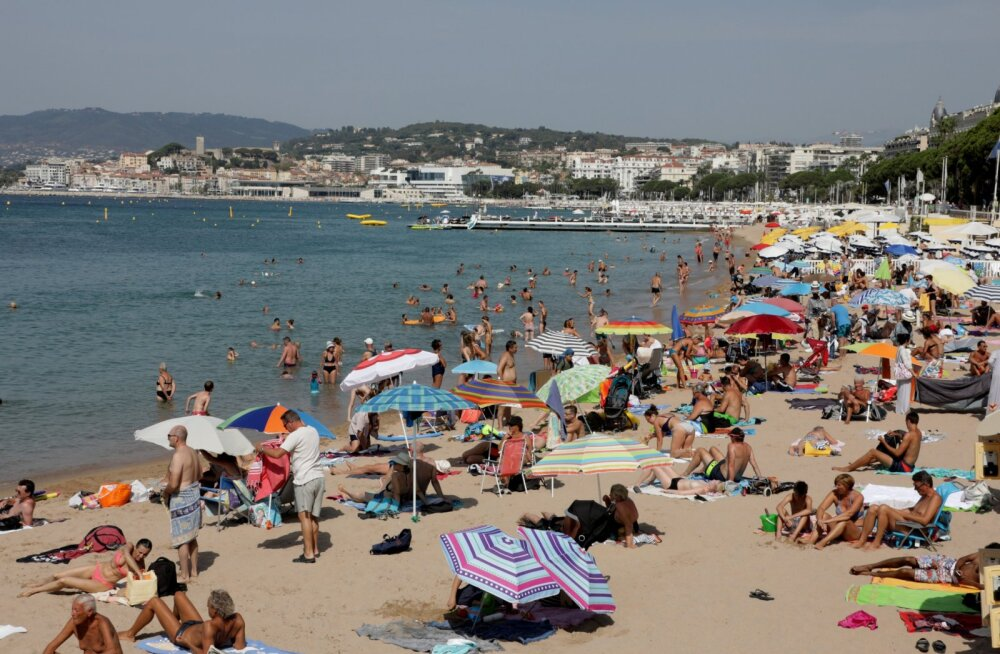 Härra võib koos perega siin Cannes'i rannas peagi puhata.
