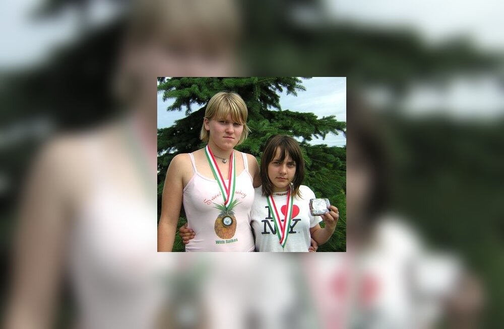Epp Mäe (vasakul) ja Kristin Lepp