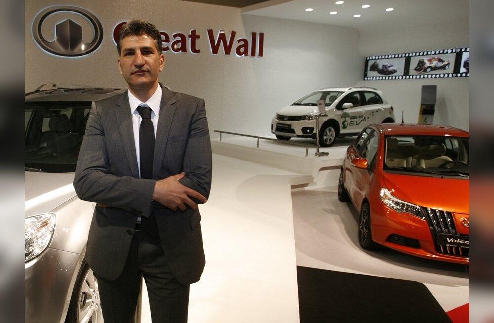 Kaua läheb, et Euroopa müüduimaks saaks Hiina auto? Pildil Great Wall Motor Co sortiment. Foto Stoyan Nenov, Reuters