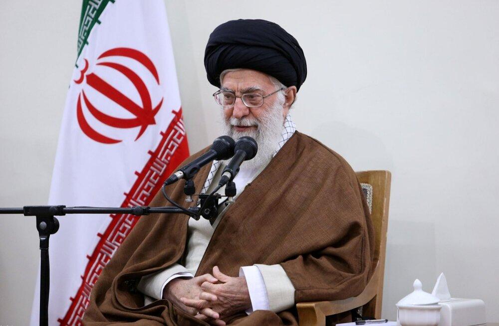 Ajatolla Khamenei süüdistas rahutustes Iraani vaenlasi