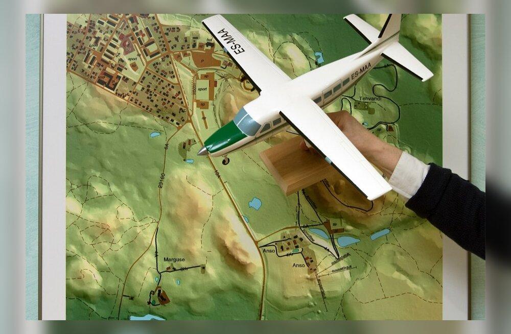 Maa-ameti kaart, lennukimudel